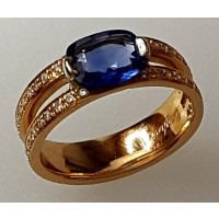 Bague DAGHER Saphir diamants
