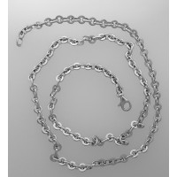 collier or gris dagher
