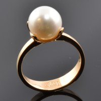Bague DAGHER Perle Blanche