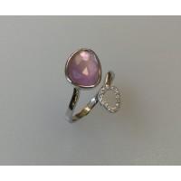 Bague DAGHER Améthyste Violette diamants
